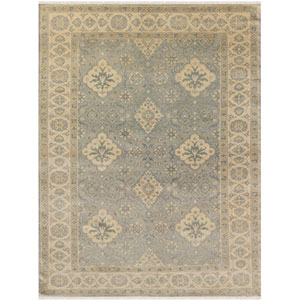 Anatolia Water Blue Rectangular: 2 Ft. x 3 Ft. Rug