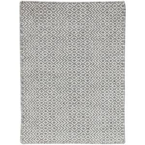 Bella Silver Rectangular: 2 Ft x 3 Ft Rug