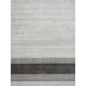 Blend Light Gray Rectangular: 2 Ft x 3 Ft Rug