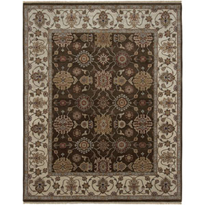 Luxor Chocolate Rectangle: 6 Ft. x 9 Rug