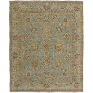 Artisan Ice Blue Rectangle: 6 Ft. x 9 Rug