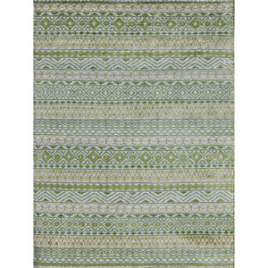 Feza Apple Green Rectangular: 2 Ft x 3 Ft Rug