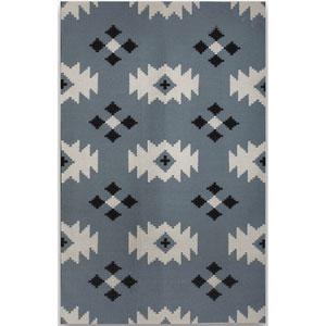 Zara Blue Rectangular: 2 Ft. x 3 Ft. Rug