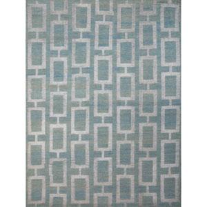 Kimaya Steel Blue Rectangular: 9 Ft. x 13 Ft. Rug