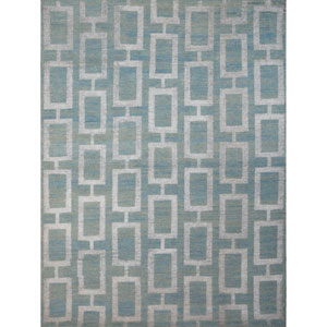 Kimaya Steel Blue Rectangular: 2 Ft x 3 Ft Rug