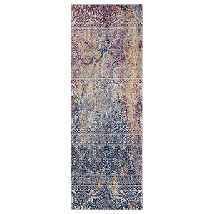 Manhattan Multicolor Runner: 2 Ft. 6 In. x 7 Ft. 6 In. Rug