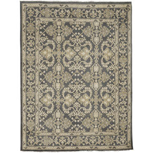 Anatolia Patara Design Charcoal Rectangular: 2 Ft. x 3 Ft. Rug
