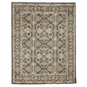 Anatolia Patara Design Charcoal Rectangular: 10 Ft. x 14 Ft. Rug
