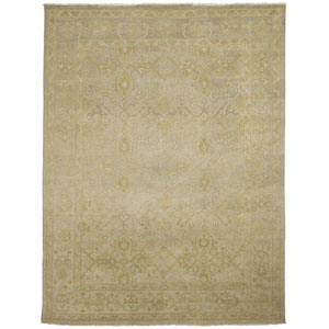Anatolia Patara Design Light Green Rectangular: 2 Ft. x 3 Ft. Rug