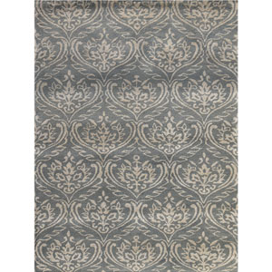 Serendipity Steel Gray Rectangular: 2 Ft x 3 Ft Rug