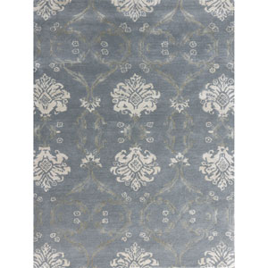 Serendipity Water Blue Rectangular: 2 Ft x 3 Ft Rug