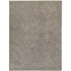 Serendipity Light Gray Rectangular: 8 Ft x 11 Ft Rug