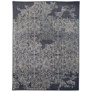 Serendipity Gray Rectangular: 2 Ft x 3 Ft Rug