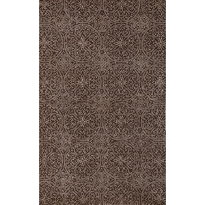 Serendipity Ghent Design Dove Gray Rectangular: 5 Ft. x 8 Ft. Rug