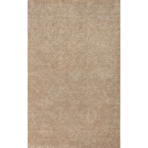 Serendipity Ghent Design Platinum Rectangular: 5 Ft. x 8 Ft. Rug