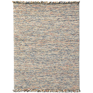 Vivid Orange Hand Woven Rectangular: 8 Ft. x 10 Ft. Rug