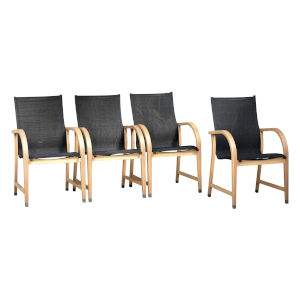 Amazonia Teak Armchairs, Set of 4