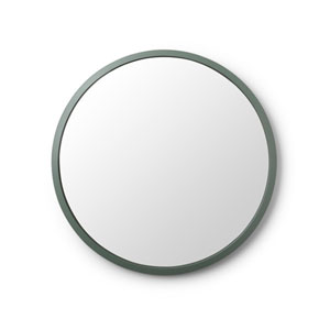 Hub 24 In. Spruce Round Wall Mirror
