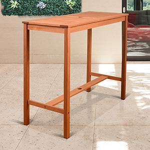 Amazonia Eurodam Rectangular Patio Table