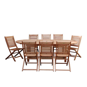 Milano Grand Extendable Table Set