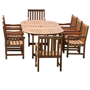 Milano Grand Extendable Deluxe Table Set