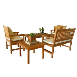 Milano Seating Five Piece Set
