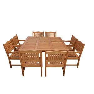 Milano Porto Square Table Set