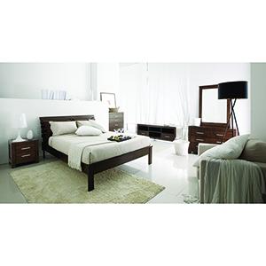 California Mid-Century 5 Piece Queen Bedroom Set