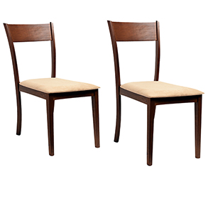 Claire 2 Piece Dining Chair Set, Sand