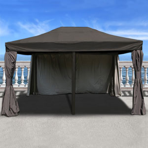 Atlantic Patio Rectangular 12FT x 16FT Aluminum Gazebo