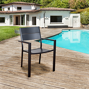 Atlantic Koningsdam 4 Piece Patio Armchair Set