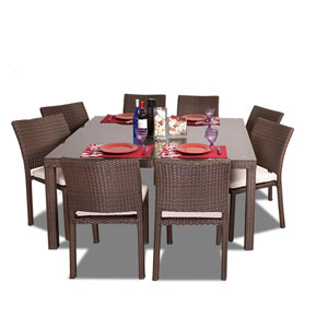 Grand Liberty Square Nine-Piece Dining Set