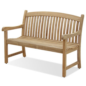 Newcastle Teak Four-Inch Bench