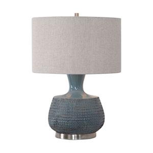 Hearst Blue One-Light Table Lamp