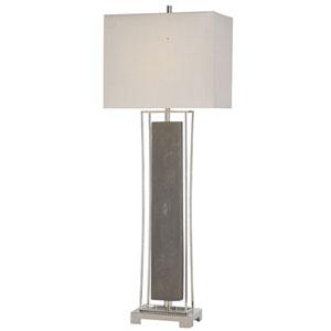 Sakana Gray One-Light Buffet Lamp