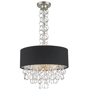 Catena Matte Nickel Five-Light Pendant