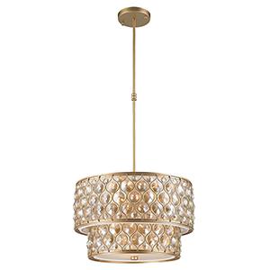 Paris Matte Gold Nine-Light Pendant