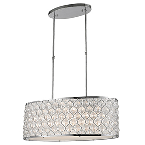 Paris Polished Chrome 12-Light Pendant