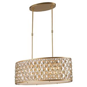 Paris Matte Gold 12-Light Pendant