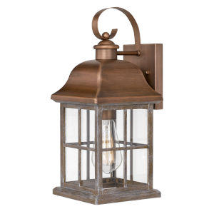 Lawrenceville Antique Copper One-Light Outdoor Wall Mount