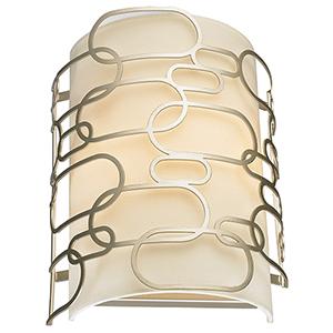 Montauk Matte Nickel Two-Light Wall Sconce