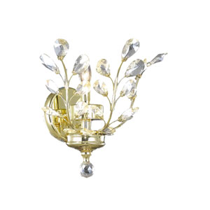 Aspen Polished Gold One-Light Wall Sconce