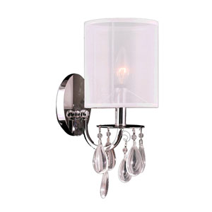 Gatsby Polished Chrome One-Light Wall Sconce