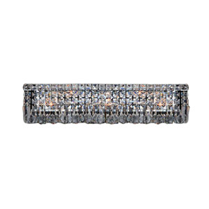 Cascade Polished Chrome Six-Light Vanity Light