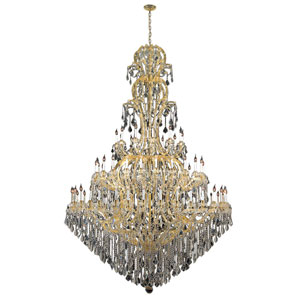 Maria Theresa Polished Gold Seventy-Two Light Chandelier