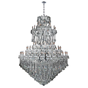 Maria Theresa Polished Chrome Eighty-Four Light Chandelier