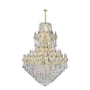 Maria Theresa Polished Gold Eighty-Four Light Chandelier