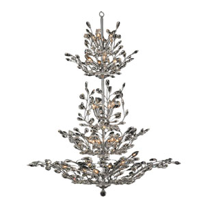 Aspen Polished Chrome Twenty-Six Light Chandelier