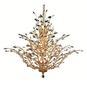 Aspen Polished Gold 18-Light Chandelier