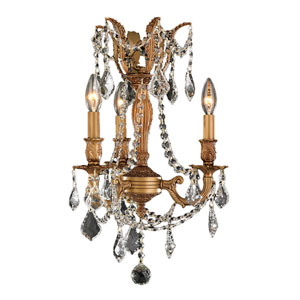 Windsor French Gold Three-Light Chandelier